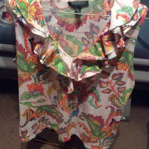 Lauren xlarge sleeveless blouse